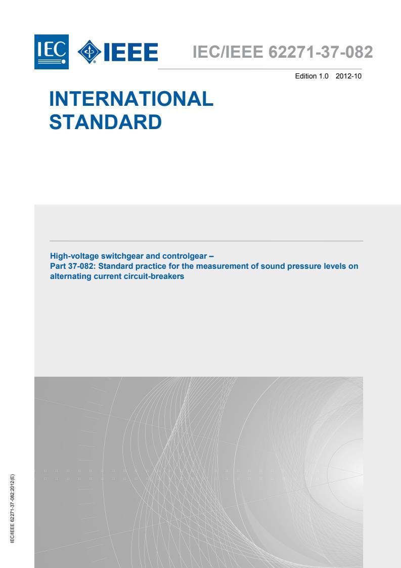 IEC/IEEE 62271-37-082:2012