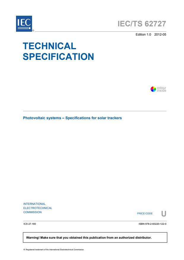 IEC TS 62727:2012