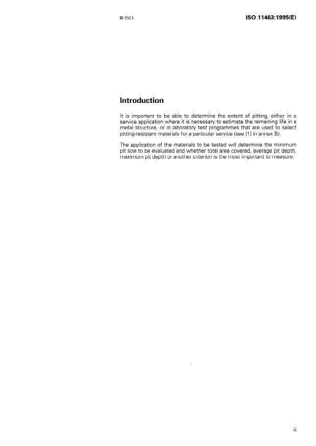 SIST ISO 11463:1999