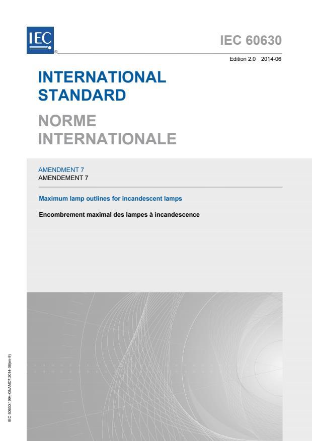 IEC 60630:1994/AMD7:2014
