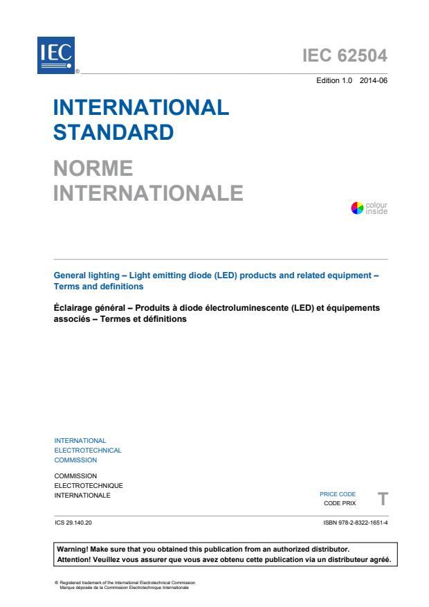 IEC 62504:2014