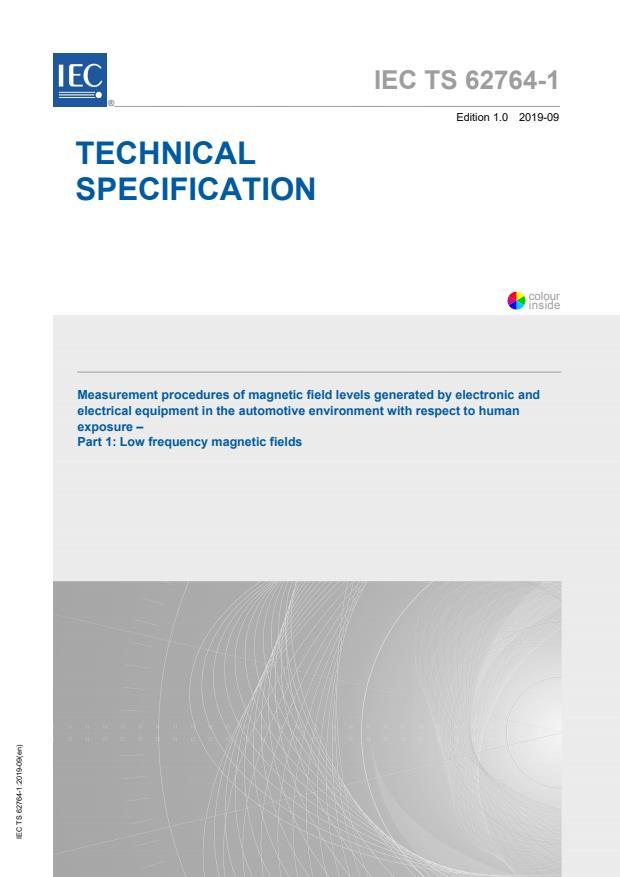 IEC TS 62764-1:2019