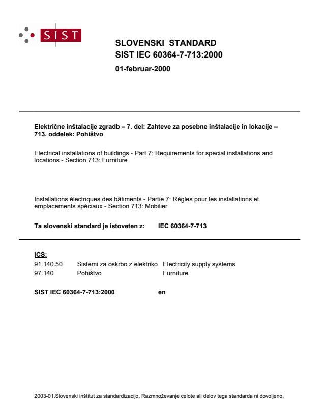 IEC 60364-7-713:2000