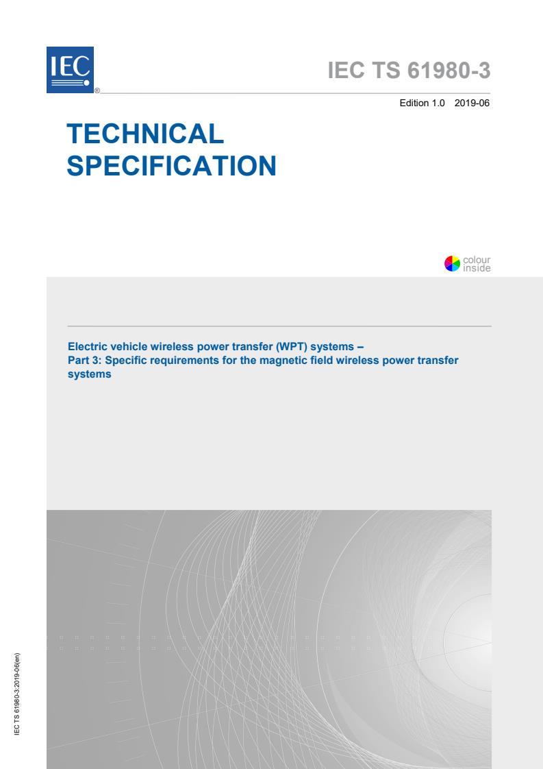 IEC TS 61980-3:2019