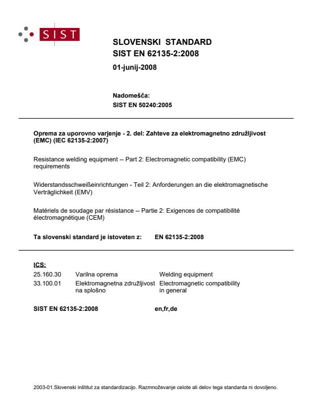 EN 62135-2:2008