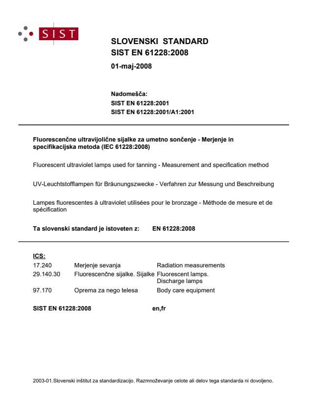 EN 61228:2008
