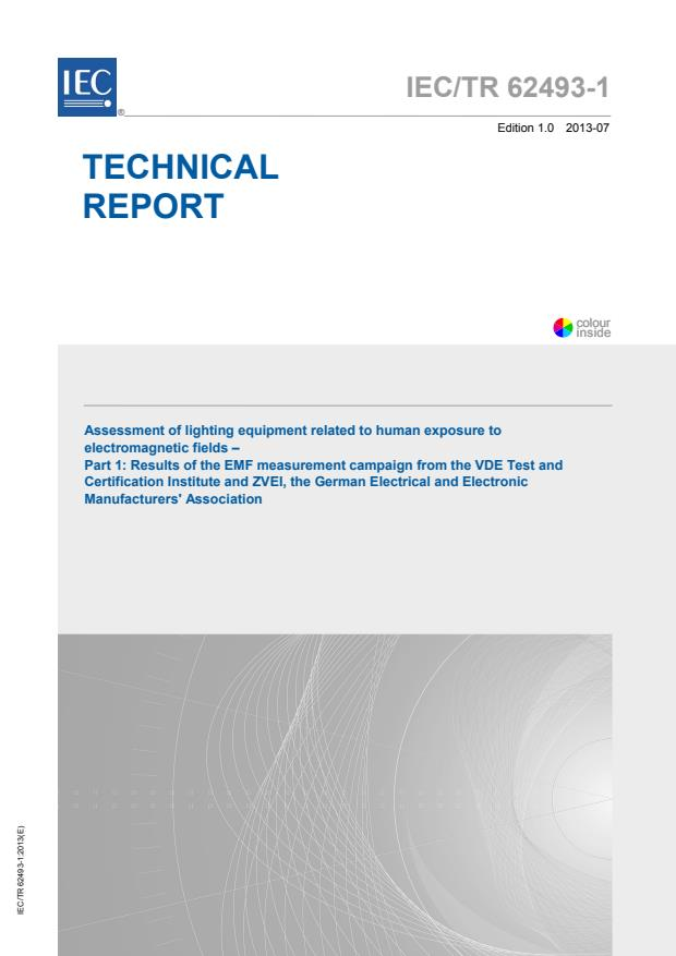 IEC TR 62493-1:2013