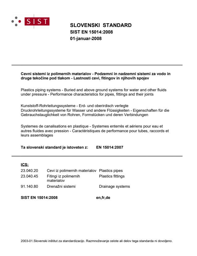 EN 15014:2008