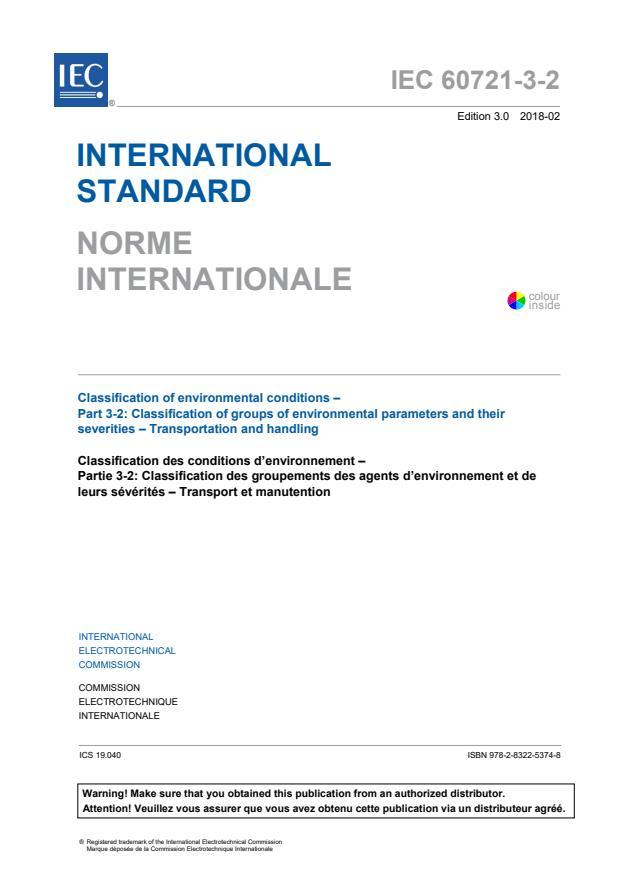 IEC 60721-3-2:2018