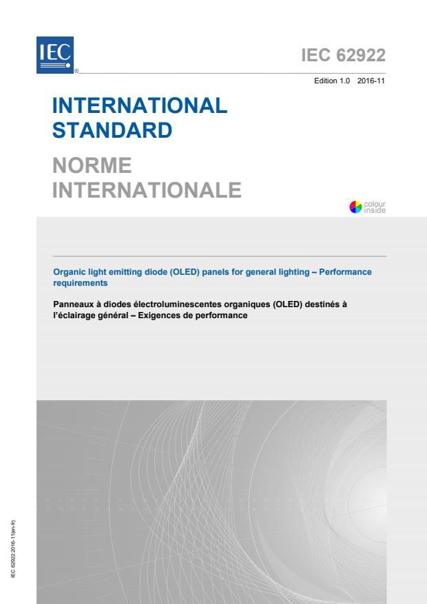 IEC 62922:2016