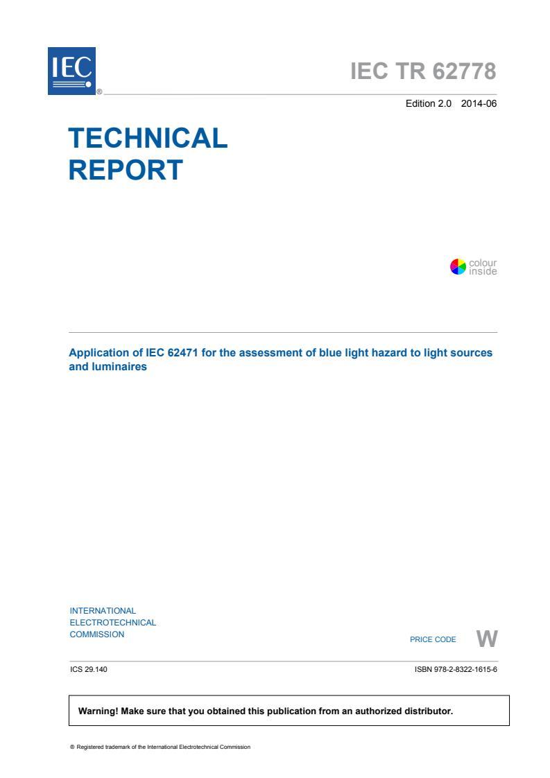 IEC TR 62778:2014