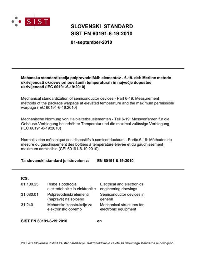SIST EN 60191-6-19:2010 - BARVe v IEC standardu!