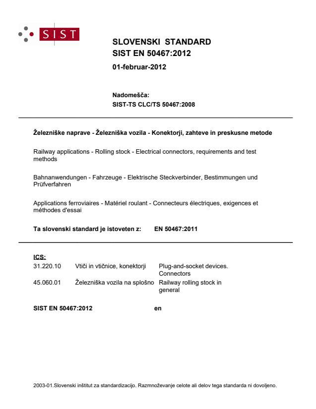 EN 50467:2012 - BARVE na pdf straneh 17, 41, 42.