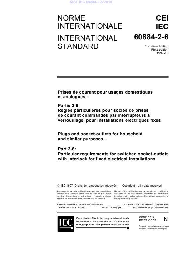IEC 60884-2-6:2010