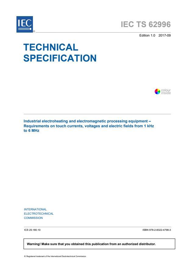 IEC TS 62996:2017