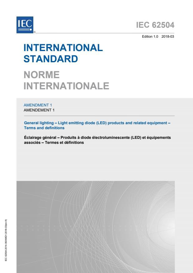 IEC 62504:2014/AMD1:2018