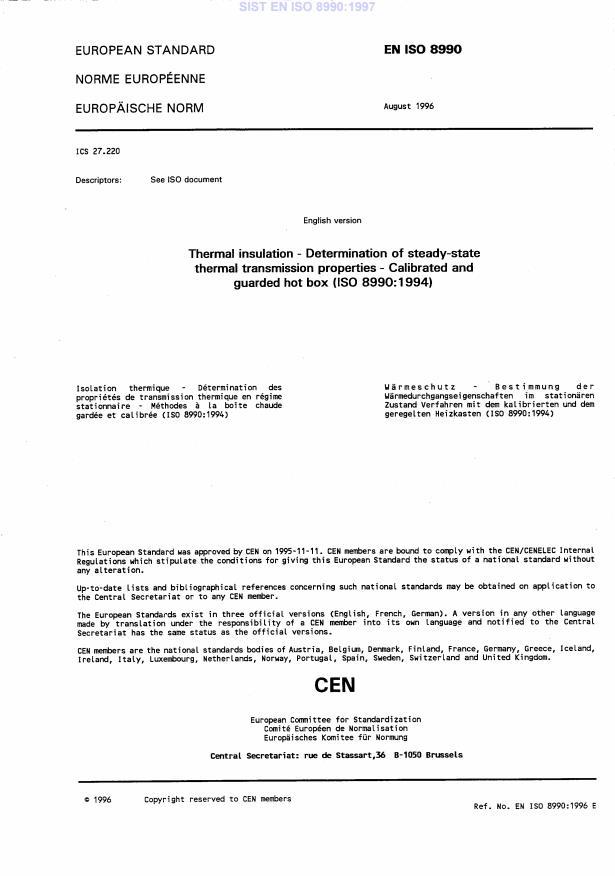 EN ISO 8990:1996