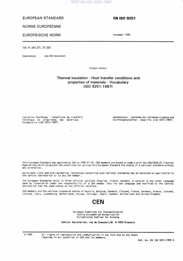 SIST EN ISO 9251:1997