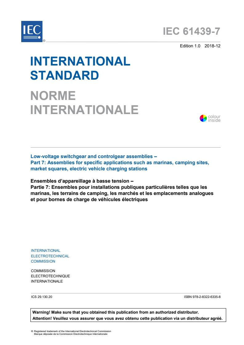 IEC 61439-7:2018
