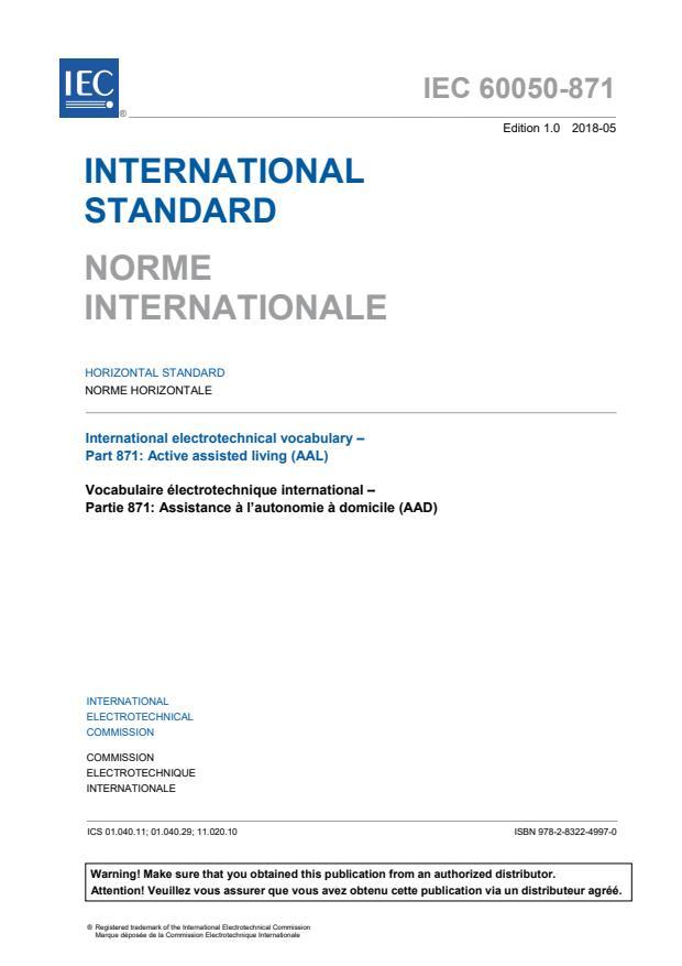 IEC 60050-871:2018