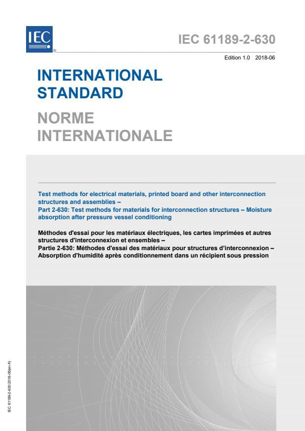 IEC 61189-2-630:2018