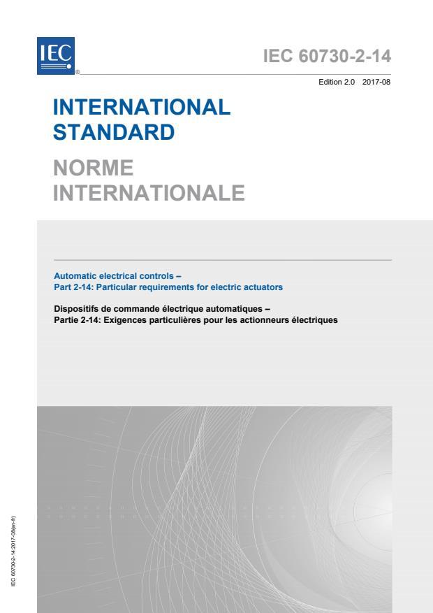 IEC 60730-2-14:2017