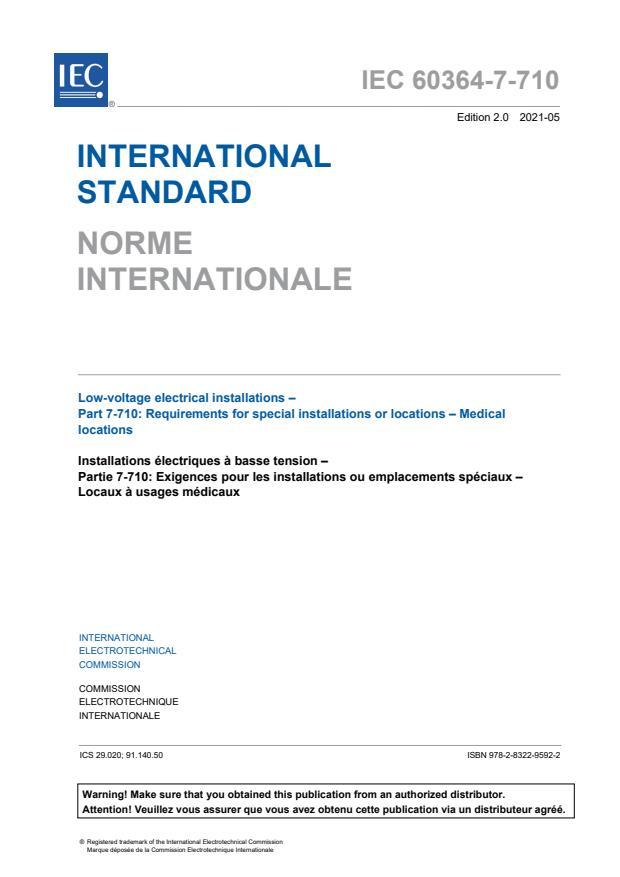 IEC 60364-7-710:2021