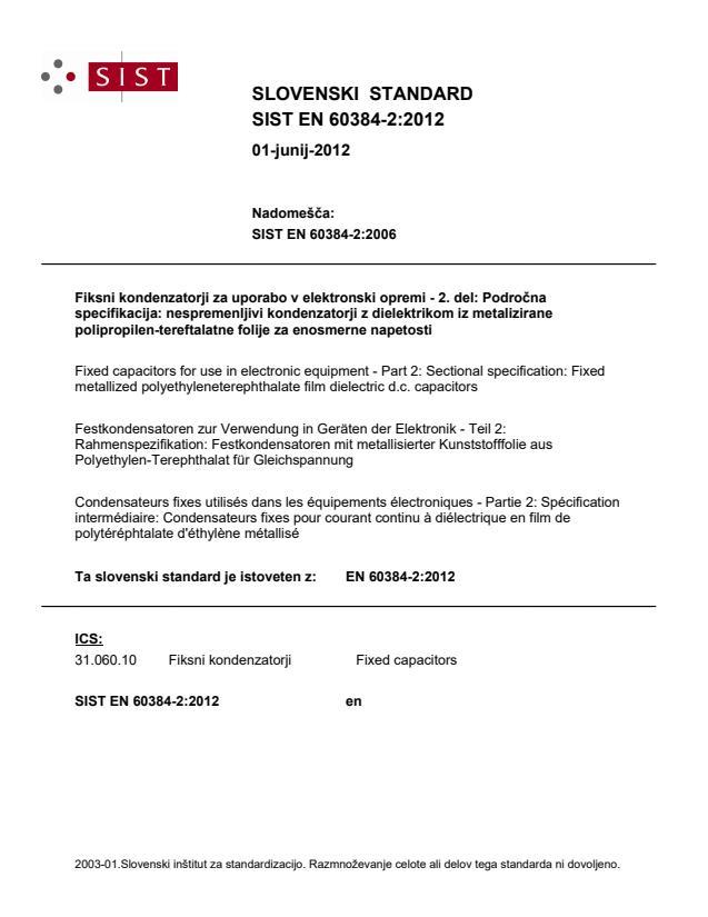 EN 60384-2:2012