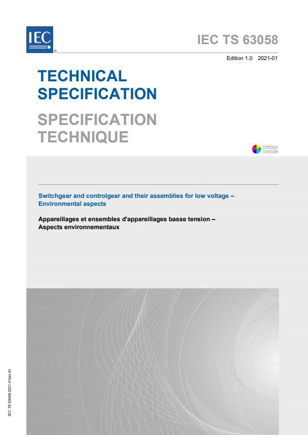 IEC TS 63058:2021