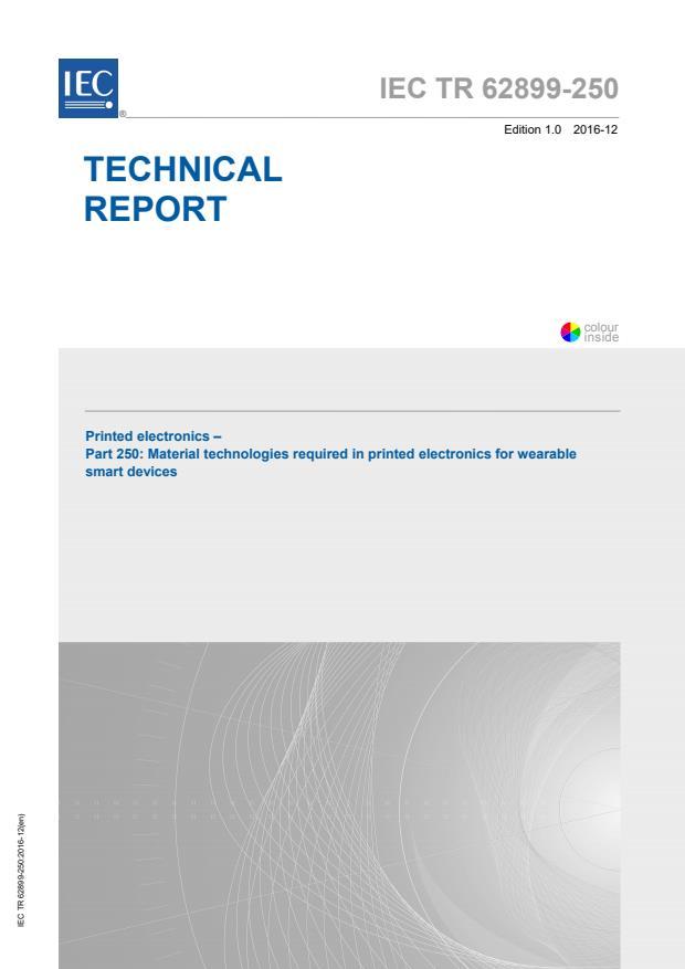 IEC TR 62899-250:2016