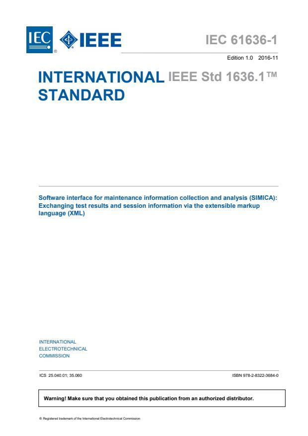 IEC 61636-1:2016