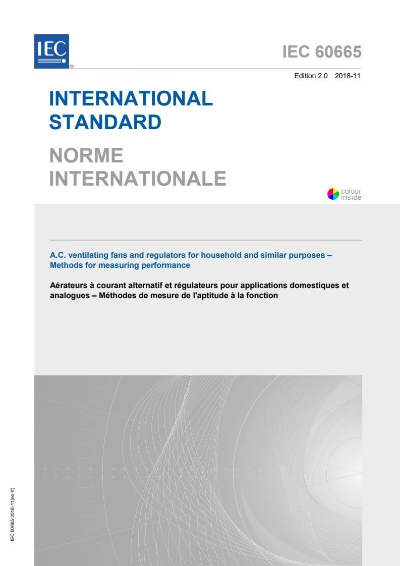IEC 60665:2018