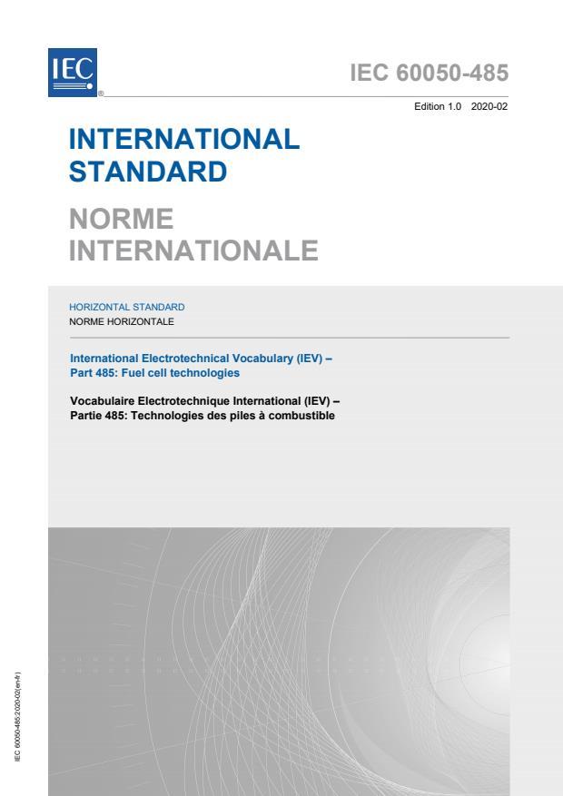 IEC 60050-485:2020