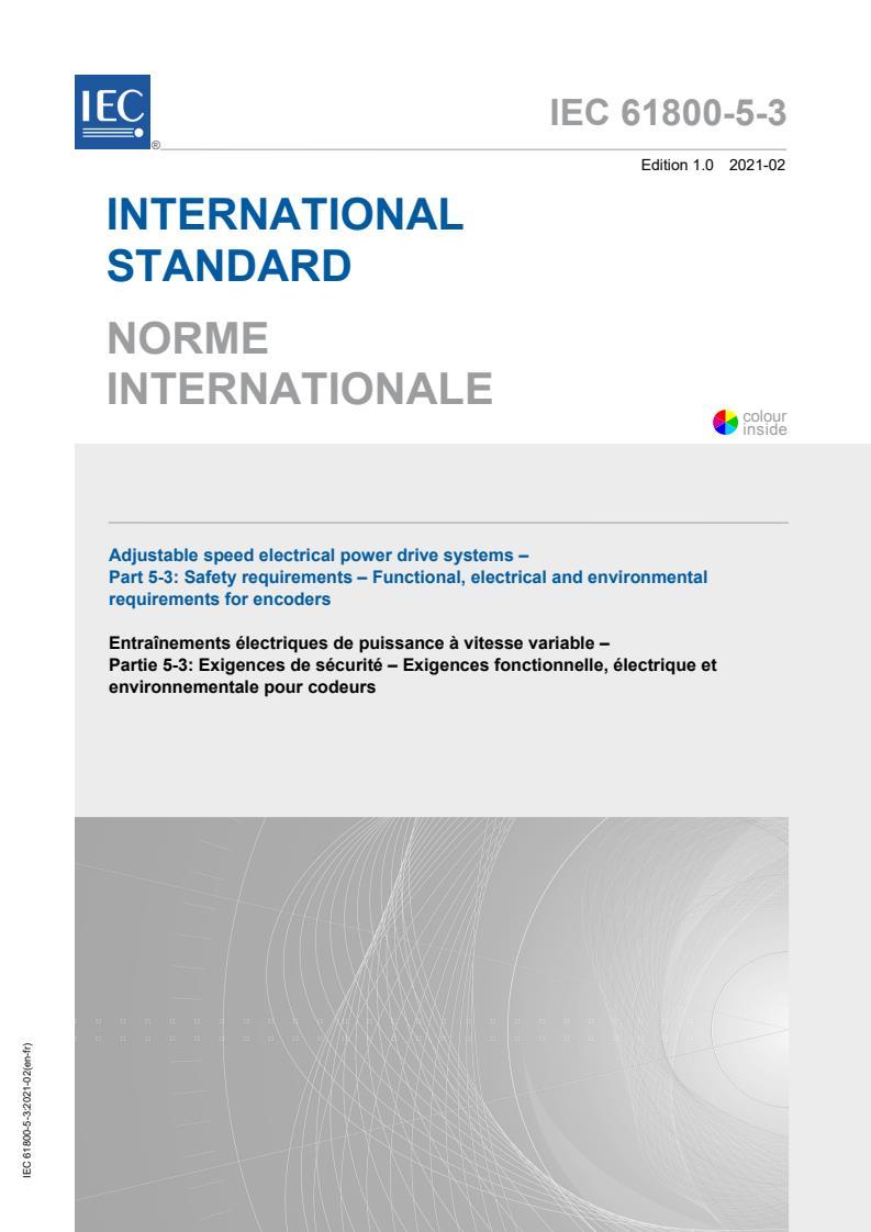 IEC 61800-5-3:2021