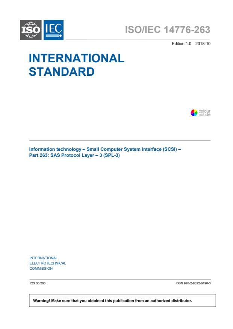 ISO/IEC 14776-263:2018