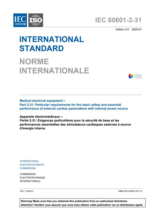 IEC 60601-2-31:2020