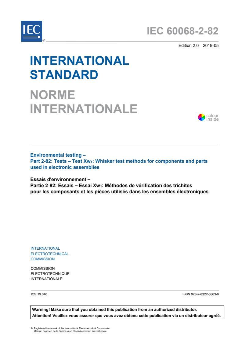 IEC 60068-2-82:2019