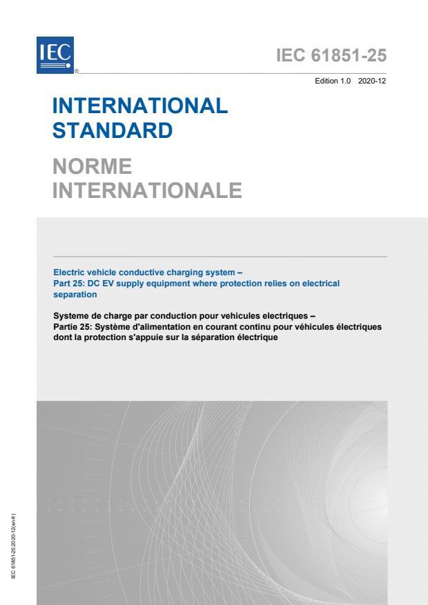 IEC 61851-25:2020