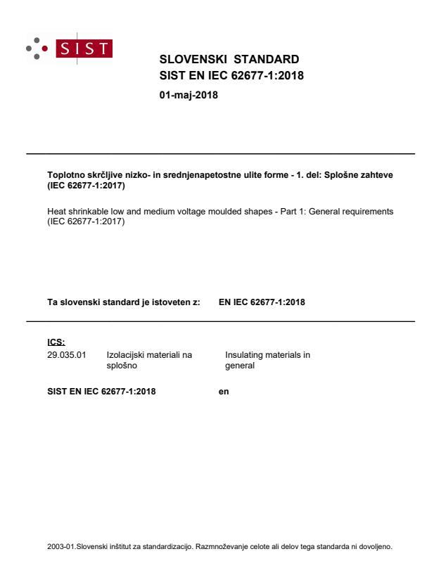 SIST EN IEC 62677-1:2018