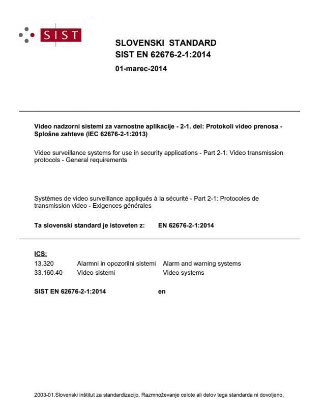 EN 62676-2-1:2014 - BARVE na PDF-strani 23,26, natisnjeno za čitalnico-ČB
