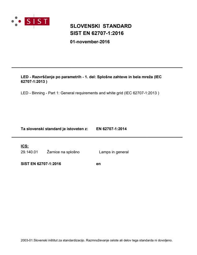 EN 62707-1:2014