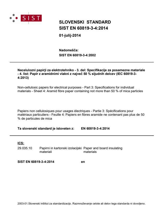 SIST EN 60819-3-4:2014
