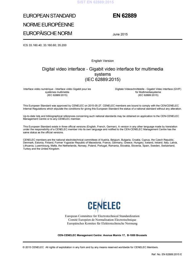 EN 62889:2015 - BARVE na PDF-strani 18