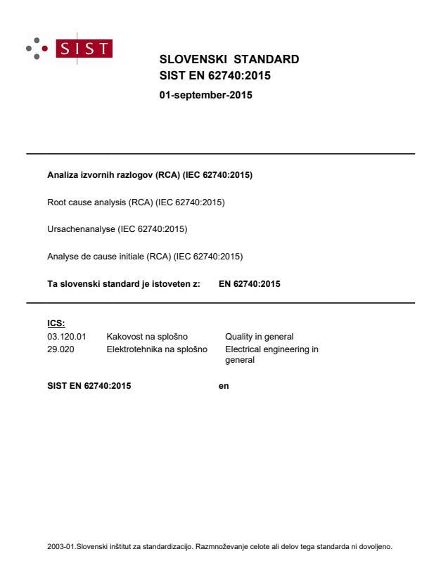 SIST EN 62740:2015 - BARVE na PDF-strani 40,58,61,67. Brez vodnega tiska-oznaka se v standardu IEC ponekod prestavi na sredino strani.
