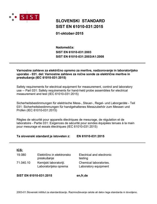 SIST EN 61010-031:2015 - BARVE na PDF-strani 40