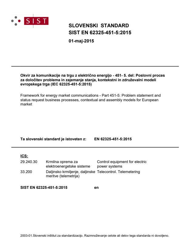 SIST EN 62325-451-5:2015 - BARVE na PDF-strani 19,25,31,39,42