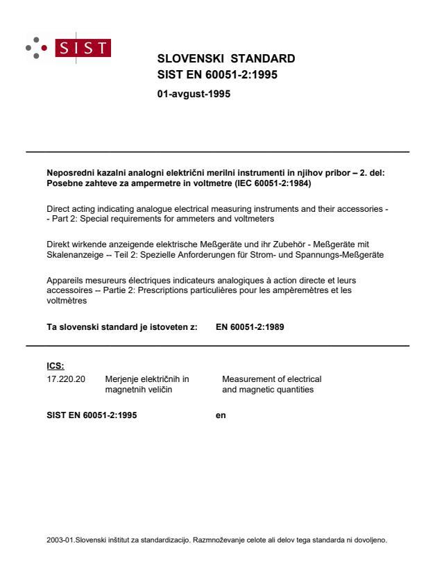 SIST EN 60051-2:1995