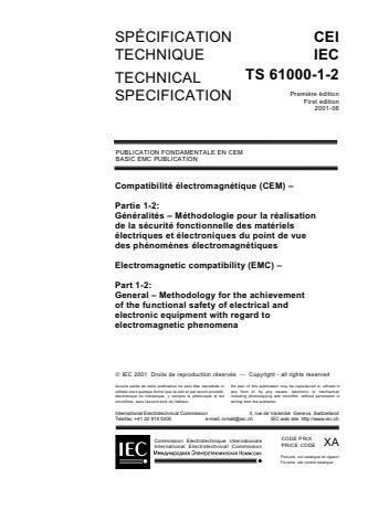 -TS IEC/TS 61000-1-2:2004