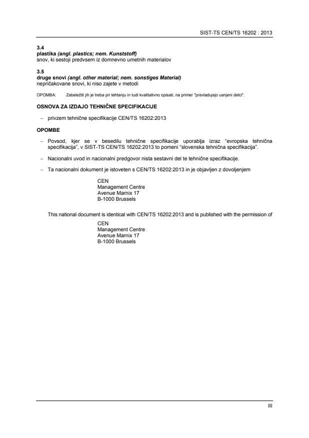 SIST-TS CEN/TS 16202:2013 - BARVE na PDF-strani 16
