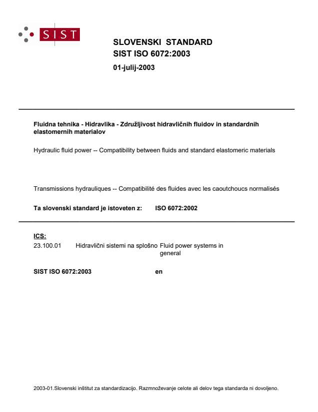 SIST ISO 6072:2003